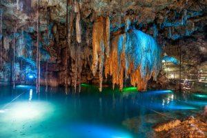 cenote mexique grotte