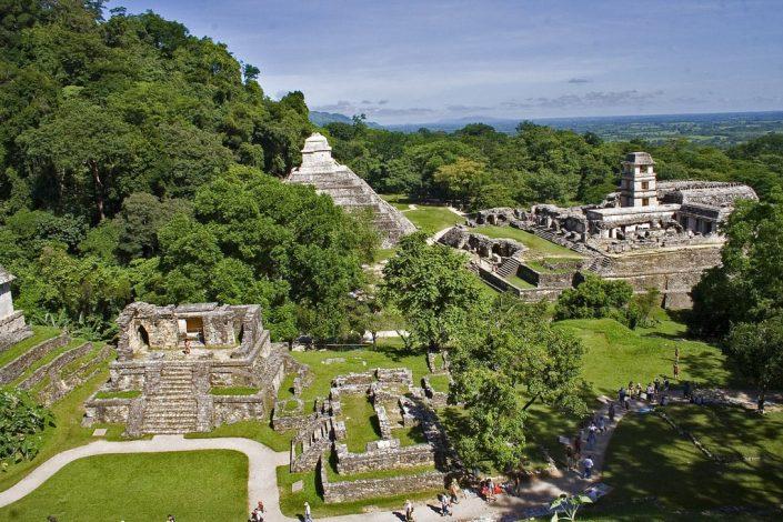 ruines archéologiques de palenque