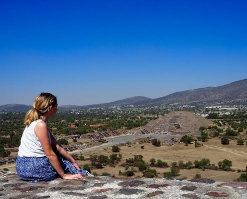 Itinéraire Teotihuacan