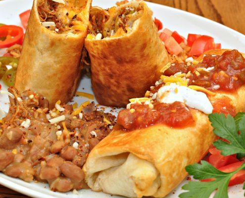 chimichangas specialite mexique