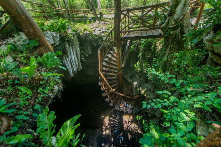 trail cenotes merida mexique