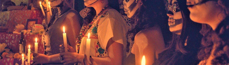 Cérémonie jour des morts - Yucatán, Mexico, Mexique