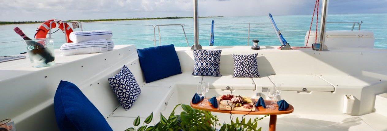 Voyage de noces - Catamaran et repas de chef