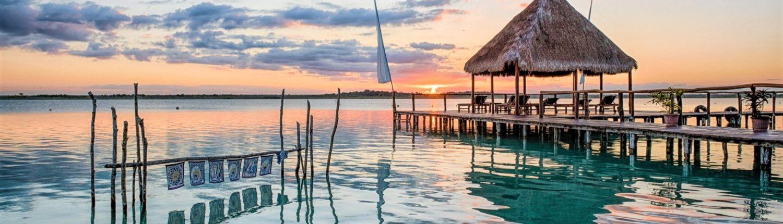Voyage de noces à Bacalar, Quintana Roo