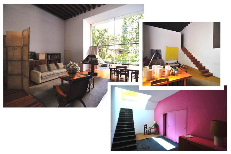 Architecture Mexicaine - Vues de la Casa Estudio de Luis Barragán