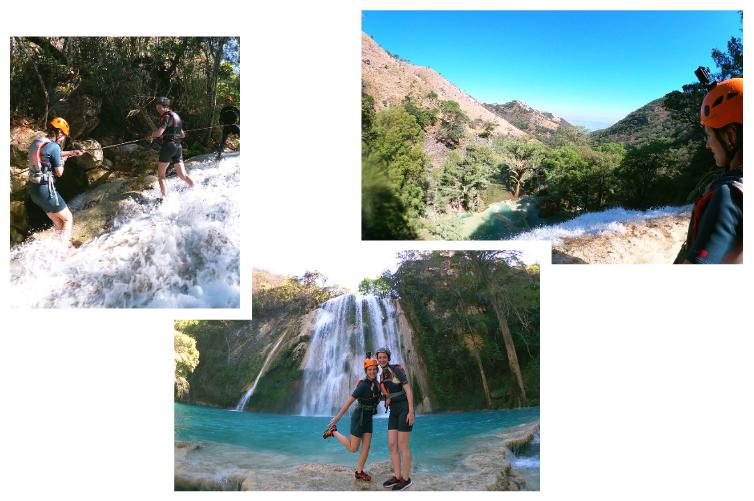 Canyoning Mexique - Sensations fortes à las 3 Tzimoleras, Chiapas, Mexique