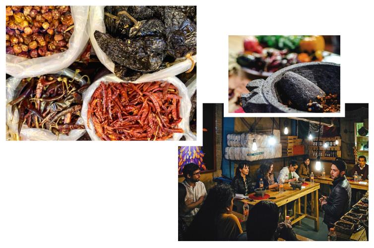 Découverte des piments, artiste de la cuisine mexicaine, Mexique