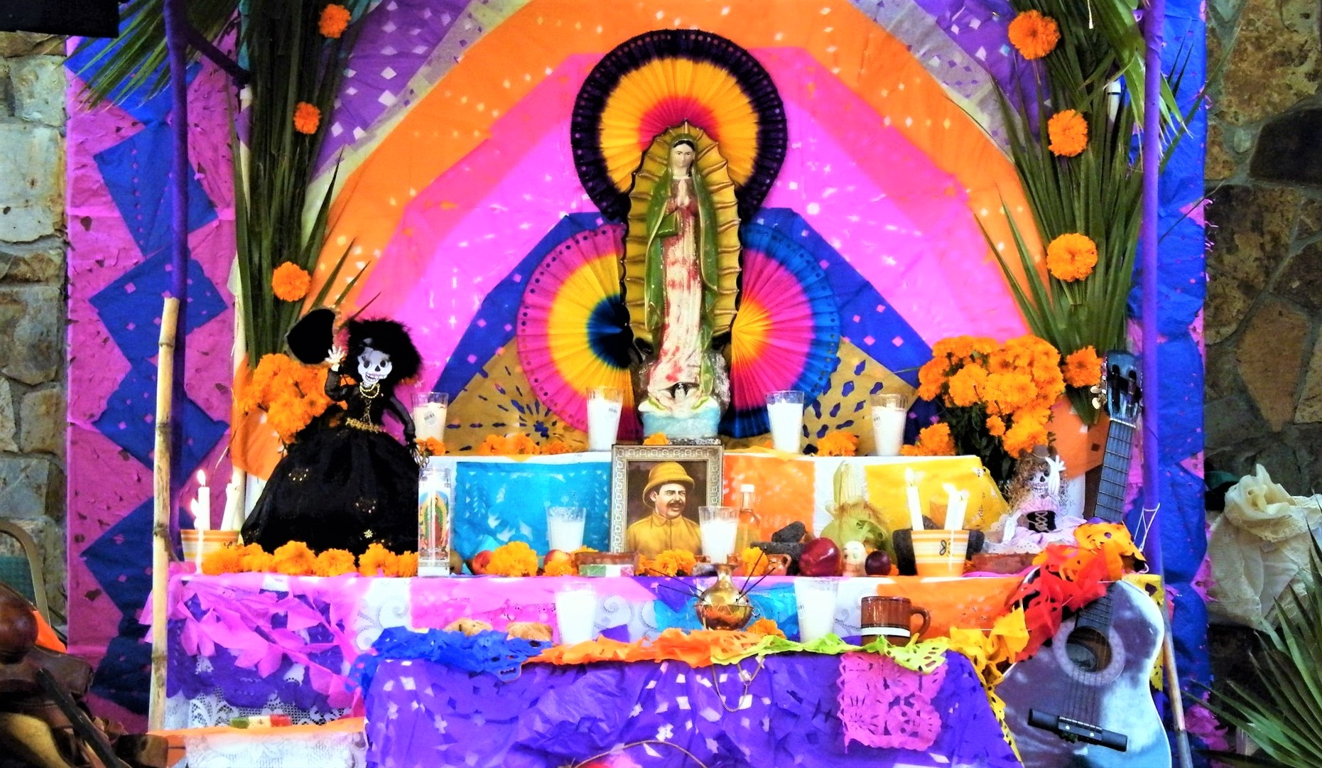 Día de los muertos - Présentation des autels des morts au Mexique