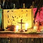 Croix religieuse día de los muertos Mexique