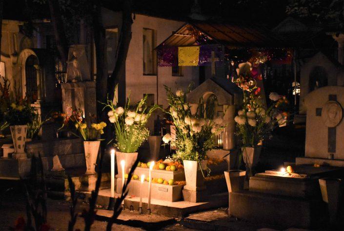 Fête des morts Mexico dans le quartier de Xochimilco